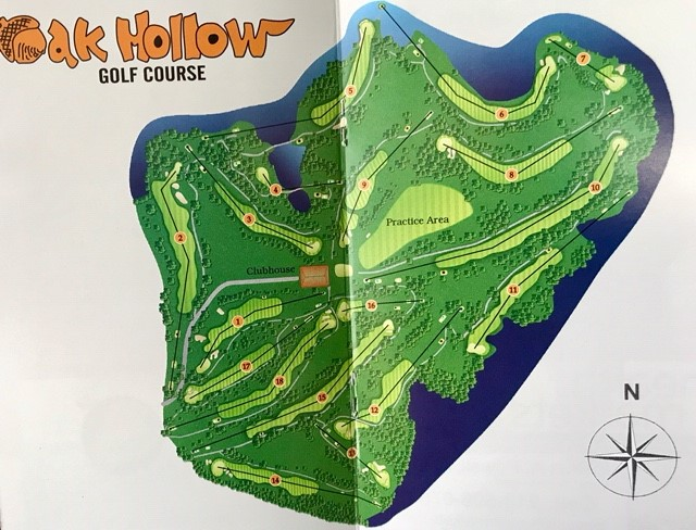 Course Tour Oak Hollow Golf Course